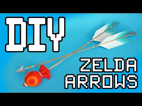 Zelda: Breath Of The Wild Arrows DIY Tutorial
