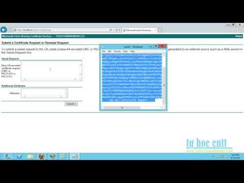 Huong dan cai dat va cau hinh SSL len IIS trong Windows Server 2012