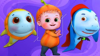 Baby Shark Song , Ultra HD 4K Nursery Rhymes , Little Amy Baby Songs By Bundle Of Joy