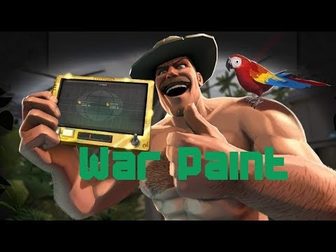TF2 | How to use War Paint FT. Geep