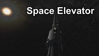 KSP - Space Elevator