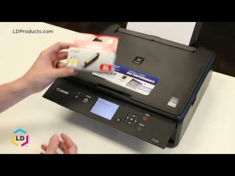 How to Replace Ink Cartridges in the Canon® Pixma TS5020, TS6020, TS8020 and TS9020