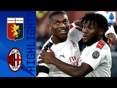Genoa 1-2 Milan   Kessié penalty seals Milan victory!   Serie A