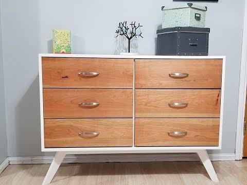 Mid Century Mod Dresser Build