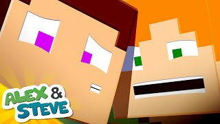 🔮 WE'RE TRAPPED IN HERE   The Minecraft Life of Alex & Steve   Minecraft Animation
