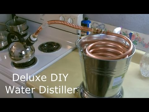 Homemade Water Distiller! - The Deluxe DIY