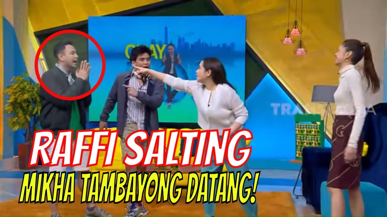 Download Raffi Kaget dan SALTING, Mikha Tambayong Datang! |  OKAY BOS (21/08/20) Part 1 MP3 Gratis