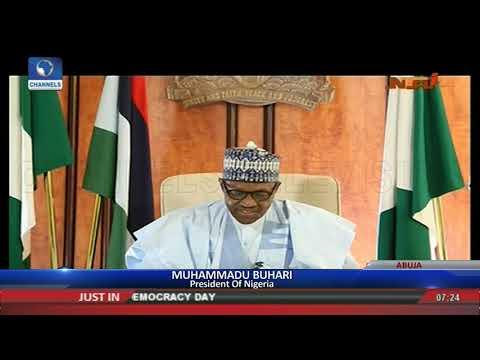 Avoid Hatred And Intolerance, Buhari Tells Nigerians