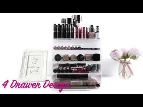 Organised Beauty 5 Tier Makeup Organiser