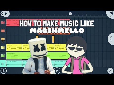Tutorial #12 : How to make music like Marshmello in FL Studio Mobile