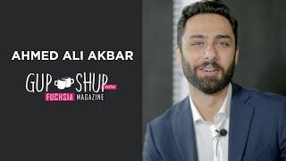 Ahmed Ali Akbar, the Ehd-e-Wafa hero in Gup Shup With FUCHSIA