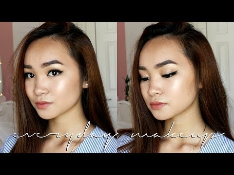 Everyday Summer Makeup Routine (how i have good skin + makeup days) ☺︎