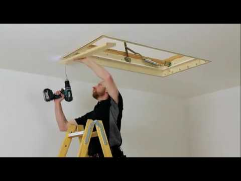 ClickFix76 Attic Ladder DIY Installation.