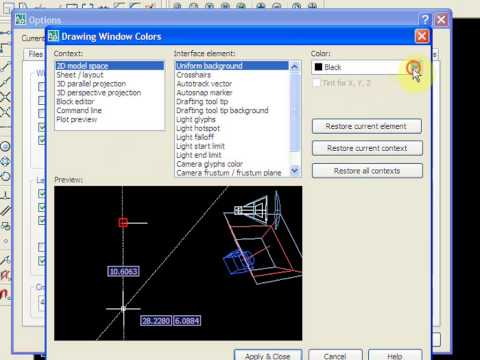 Setting Toolbar AutoCad
