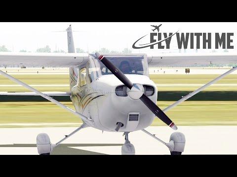 X-Plane 11 Flight School #5 - Starting the Cessna 172 SP