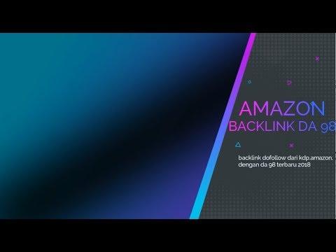 Backlink Dofollow dari Amazon 2018 DA 98