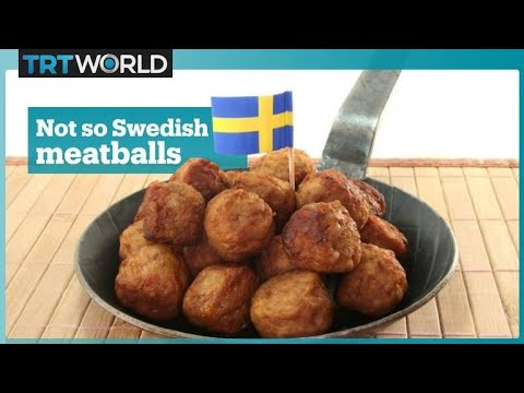 Those famous Swedish meatballs actually aren't so Swedish
