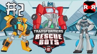 Transformers Rescue Bots: Disaster Dash - Hero Run - All Bots Unlocked - Gameplay Part 2