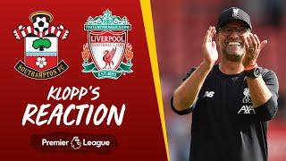 Klopp's post-match press conference | Southampton
