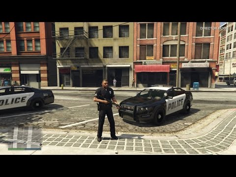 PLAY AS A POLICE OFFICER: GTA 5 CONSOLES (NO MODS)