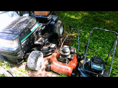 Free Lawnmowers & MTD Riding Mower Craigslist Score!