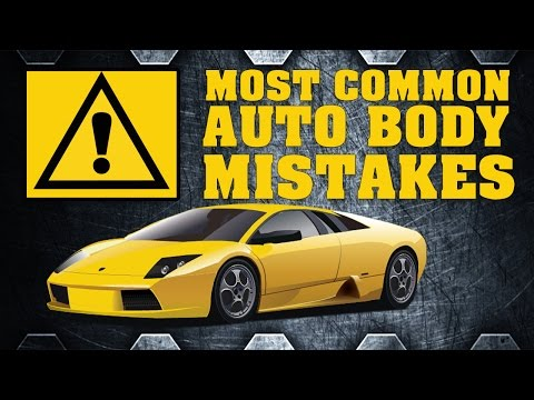 AVOID The Most Common Auto Body Mistakes That Newbies Make!