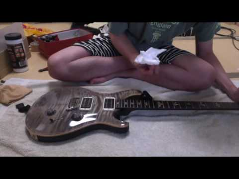 Paul Reed Smithギターのお手入れ  how to change strings of the guitar