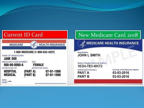 New Medicare ID Card in 2018