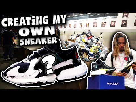 I DESIGNED A SNEAKER WITH ADIDAS !!! THE DOPEST SNEAKER PICKUP EVER !!!