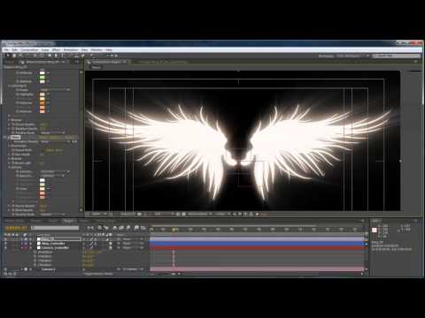 Advanced Angel Wings in After Effects - Part 2