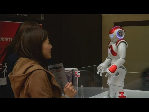 Japanese bank introduces cute robot worker for Tokyo Olympics in 2020
