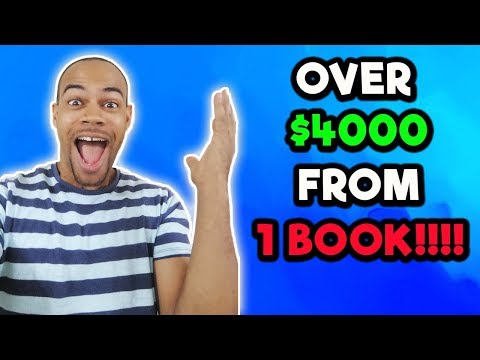 How To Make $4000 From 1 Book With Kindle Publishing   Createspace