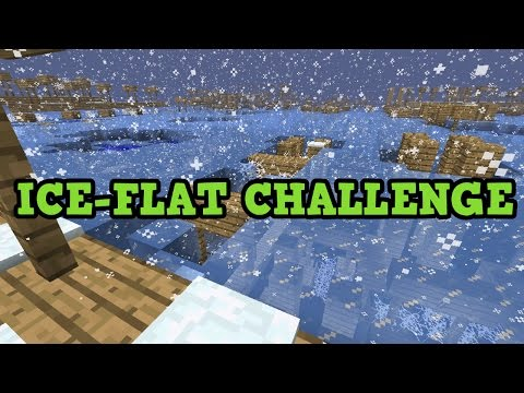 ICY FLAT CHALLENGE - Minecraft Xbox One / PS4 SuperFlat