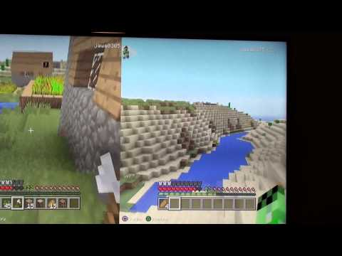 Minecraft PS3 Snowball Fight Part 2 (4)