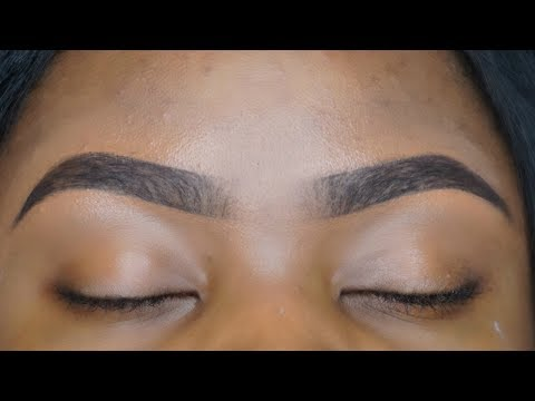 Eyebrows Routine 2017   Prevent breakouts after threading