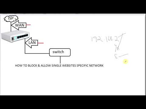 How to Block and Allow Single Websites in Specific Network   Mikrotik Router