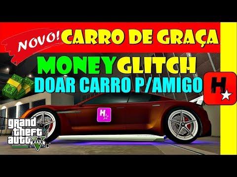 GTA 5 Online Money Glitch CARRO de GRAÇA PS4/XBOX1/PC | GLITCH DINHEIRO GTA Give Car to Friend 1.42