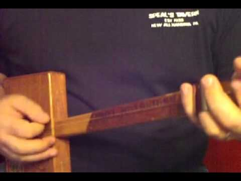 How to Play Diddley Bow pt. 1