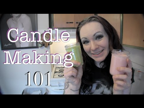 How to Make Scented Candles!