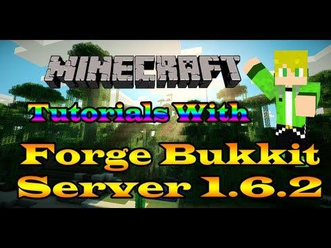 Minecraft Tutorial- How to make a forge bukkit server (MCPC+) 1.6.2/1.6.4