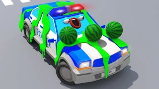 Download Полицейская Машина СУПЕР ГОНКИ Мультики про МАШИНКИ - мультфильмы для детей Video