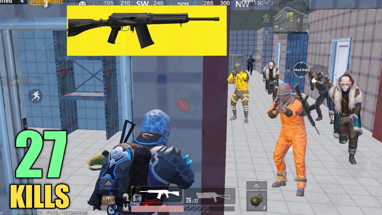 8 enemies RUSHED me & I had shotgun | PUBG MOBILE