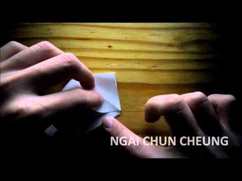Origami Prison Break Swan (Tutorial)