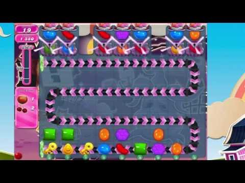Candy Crush Saga Level 715  No Boosters  THE KEYS!