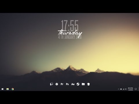 Simple Desktop 2 - Make Windows Look Better