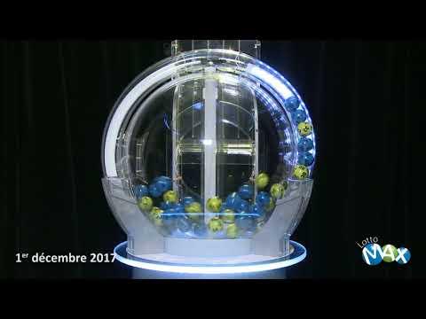 Tirage Lotto Max 1 decembre 2017