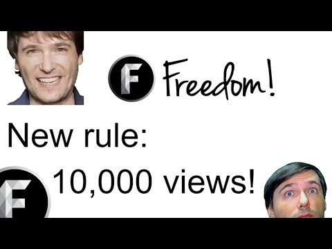 ★ Cannot join Freedom!? - You need 10,000 views!