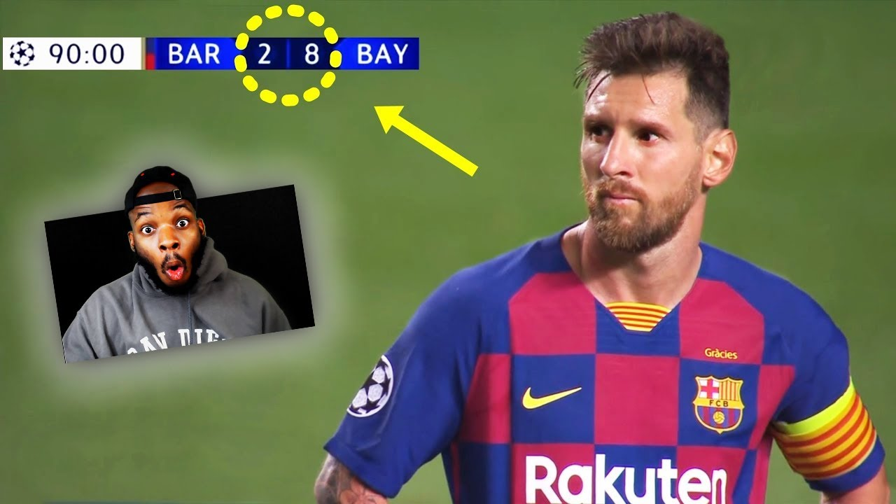 American Reacts to Football Matches That Shocked The World!