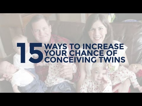 15 Ways To Increase Your Chance Of Conceiving Twins