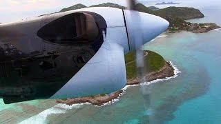 Winair DHC6 Takeoff Saint Barthelemy